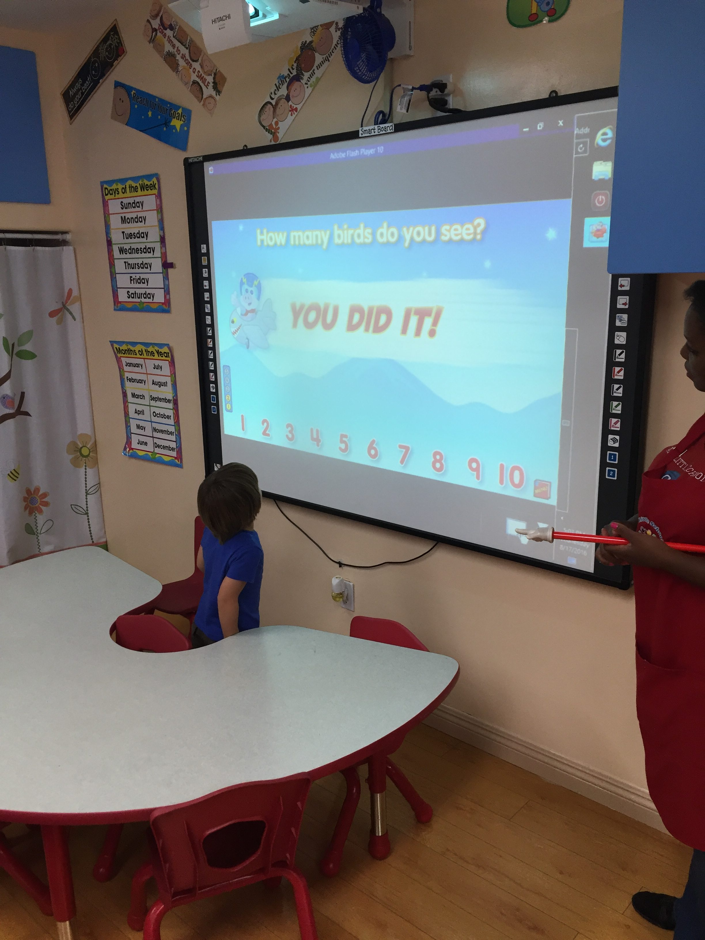 Smart Board Learning at ABC Little School -Sherman Oaks