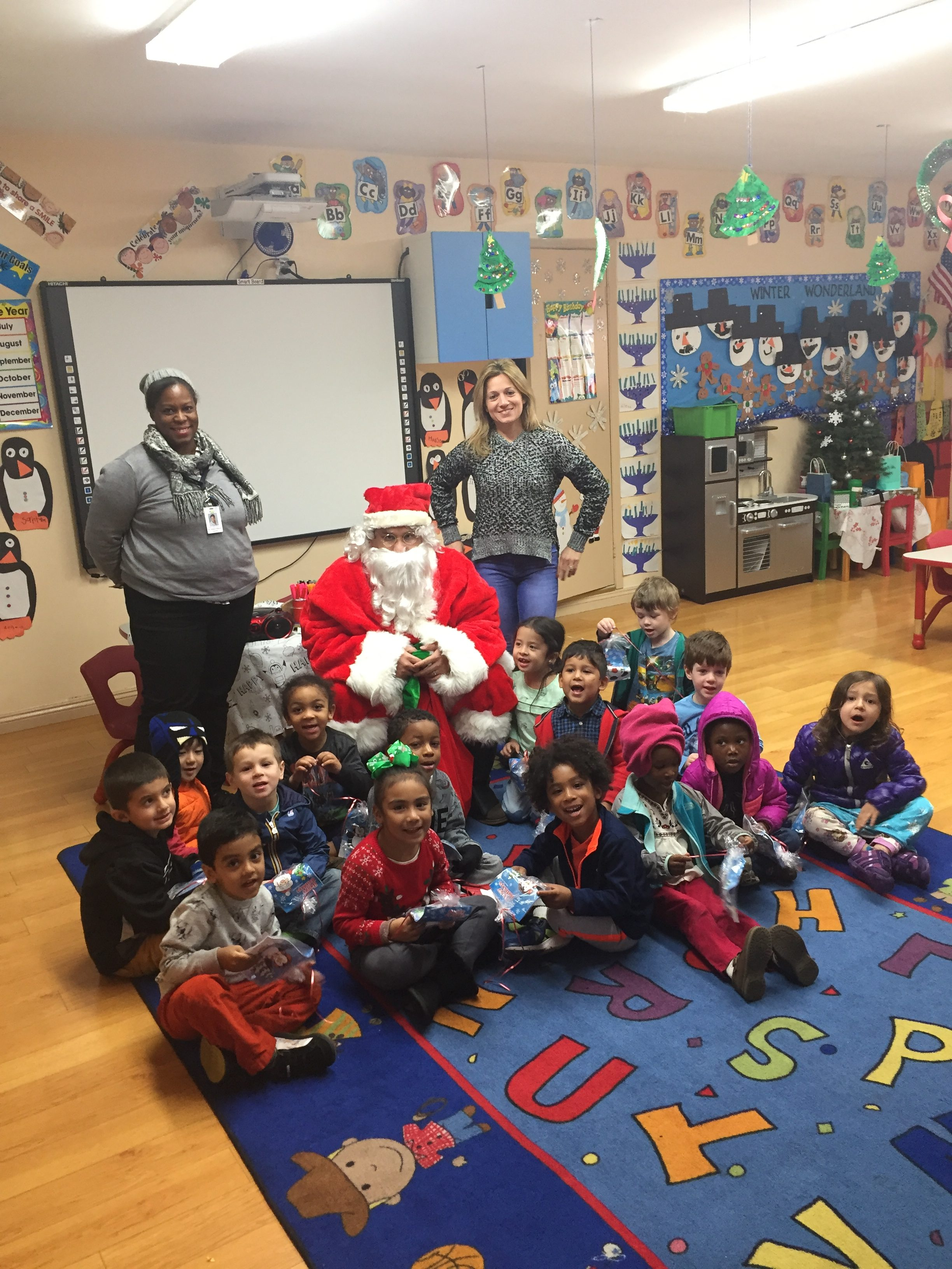 ABC Little School - Sherman Oaks santa visit