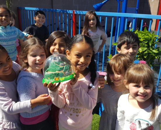 Preschool Outside Play