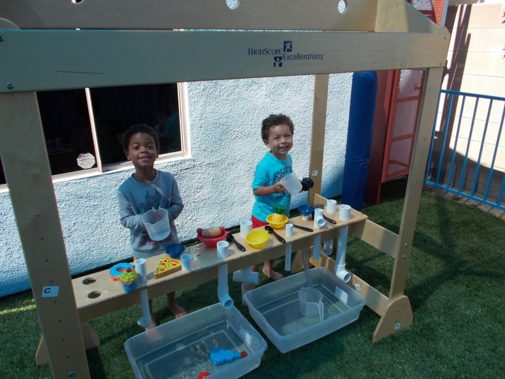Preschool outdoor play